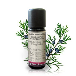 Essential oil Virginian cedarwood (Juniperus virginiana)