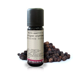 Essential oil Sarawak Black pepper BIO (Piper nigrum)