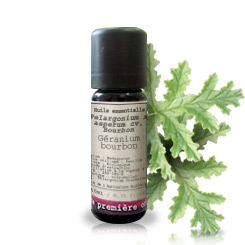 Essential oil Bourbon geranium BIO (Pelargonium x asperum cv. Bourbon)