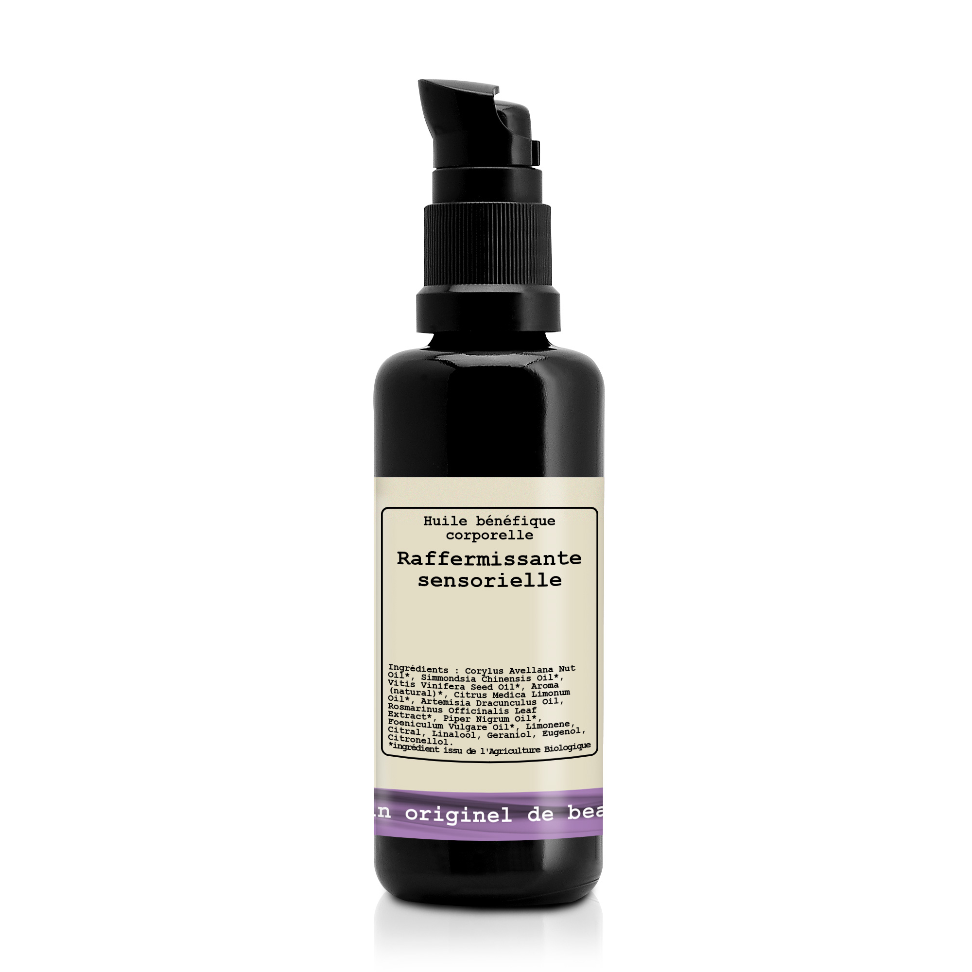 Beneficial body oil Slenderness Invigorating and toning BIO