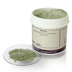 Mineral Green montmorillonite