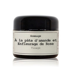 Exfoliation The almond paste and Rose enfleurage BIO