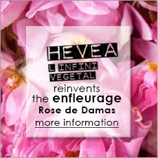 HEVEA reinvents the enfleurage Roses de Damas
